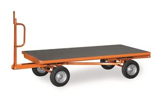 FETRA Industrie-Anhänger 7287L, 2500x1250mm, 2-Achser Tragkraft 2000kg, Luft-Bereifung | günstig bestellen bei assistYourwork