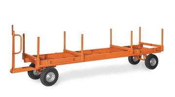 FETRA Langmaterial-Anhänger 7189L, 4000x1050mm, 1-Achser Tragkraft 3000kg, Luft-Bereifung | günstig bestellen bei assistYourwork