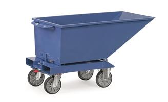 FETRA Muldenkipper mit Ablasshahn 4701A, Tragkraft 750kg, 250 l Inhalt | günstig bestellen bei assistYourwork