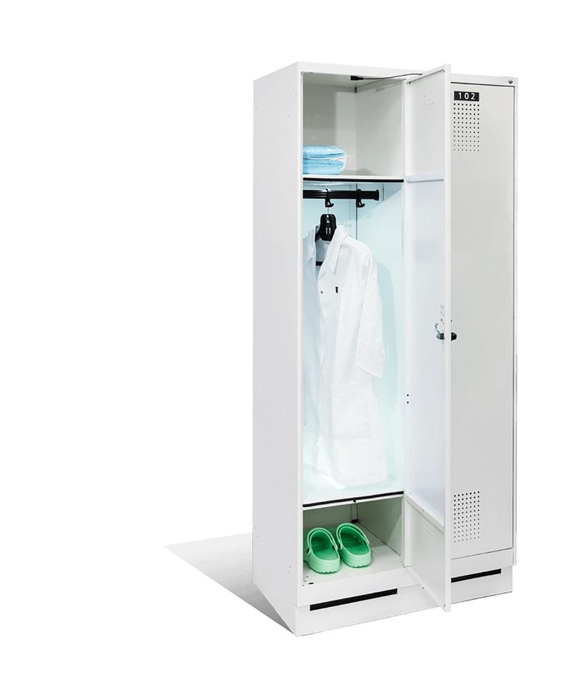 UV-C Garderobenschrank 2 Abteile Evolo S 3000 | günstig bestellen bei assistYourwork