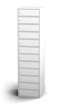 Ladeschrank mit 12 Fächern HxBxT: 1800 x 450 x 500 mm | günstig bestellen bei assistYourwork