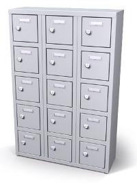 Mini-Wertfachschrank 15 Fächer HxBxT: 900 x 600 x 200 mm | günstig bestellen bei assistYourwork