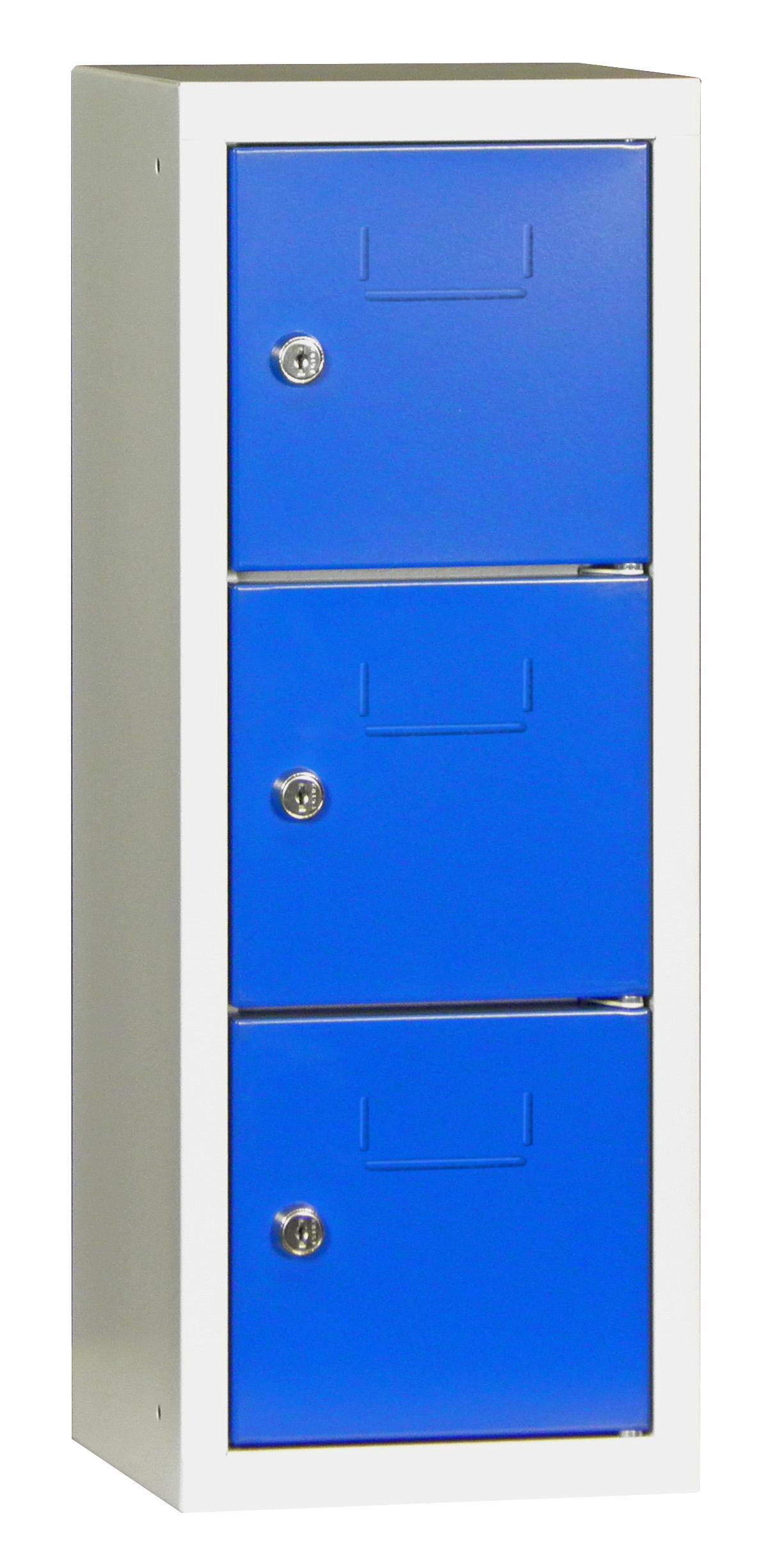 Mini-Wertfachschrank 3 Fächer 598x200x225mm, Zylinderschloß | günstig bestellen bei assistYourwork