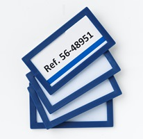 Etikettenrahmen selbstklebend 80x45 mm | günstig bestellen bei assistYourwork