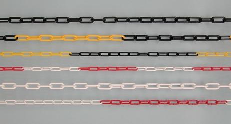 Absperrkette 8 mm Gliederstärke, 25 m, in 2 Farbkombinationen | günstig bestellen bei assistYourwork