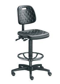 Arbeitsstuhl BM Factory 2 mit PU Sitzfläche- & Rückenlehne gem. DIN 68877 | günstig bestellen bei assistYourwork