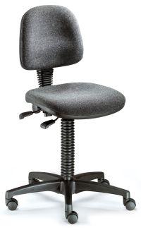 Arbeitsstuhl BM Industrie 1 mit Stoff- Sitzfläche- & Rückenlehne gem. DIN 68877 | günstig bestellen bei assistYourwork
