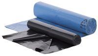 Müllsäcke 50l schwarz, 40my, VPE 250 Stk. | günstig bestellen bei assistYourwork
