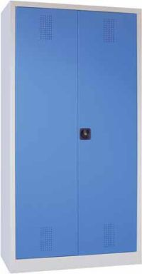Umweltschrank 1950x1000x400mm 5 Wannenböden 15l mit Lochblecheinlage | günstig bestellen bei assistYourwork