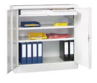 Werkzeugschrank 1000x1000x500mm 2 Einlegeböden, 2 Schubladen | günstig bestellen bei assistYourwork