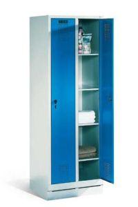 Wäsche-Aufbewahrungsschrank 1800x610x500mm, 2 Abteile | günstig bestellen bei assistYourwork