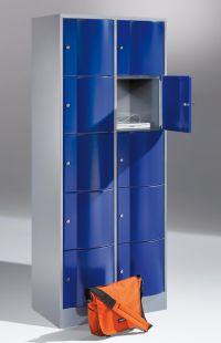 Fächerschrank Resisto mit 2x5 Fächern 1950x770x540mm | günstig bestellen bei assistYourwork