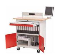 Mobile Office PC-Arbeitsplatz 04.980.01, BxTxH 1200x700x1196mm | günstig bestellen bei assistYourwork