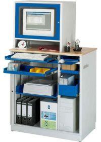 EDV-Steharbeitsplatz 1030x660x1810mm inkl. Monitoraufsatz Standard | günstig bestellen bei assistYourwork