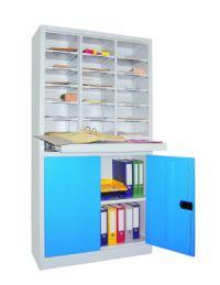 Postverteilerschrank 41424-100-000 1950x1000mm,18 Fächer, Unterschrank | günstig bestellen bei assistYourwork
