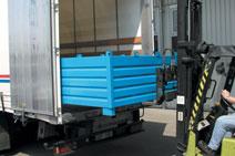 Sammelbehälter SBS 1000 verzinktt 1,00 m³ | günstig bestellen bei assistYourwork