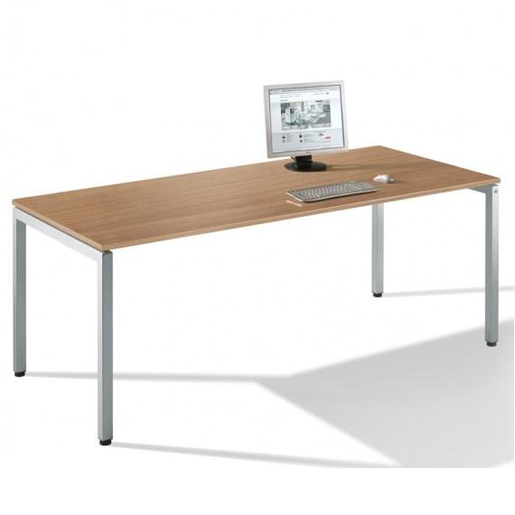 schreibtisch serie t 3000 asisto mit rechteckplatten und freiformplatten assistyourwork. Black Bedroom Furniture Sets. Home Design Ideas