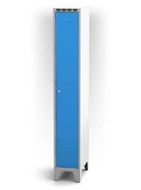 Kleiderschrank 1-teilig, doppelwandige Tür Abteilbreite: 400 mm, 1920 mm hoch   günstig bestellen bei assistYourwork