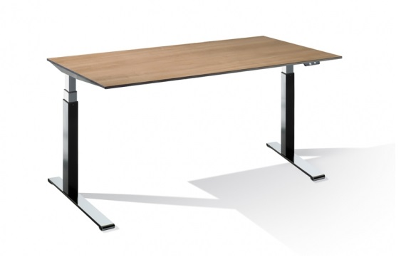 Schreibtisch T4000 Cegano 1800x800mm elektrisch höhenverstellbar, HPL Arbeitsplatte | günstig bestellen bei assistYourwork