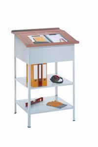 Werkstattpult 1200x700x600mm, offene Ausführung mit 2 Böden | günstig bestellen bei assistYourwork