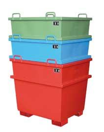 Universal-Container 0,75m³ lackiert  | günstig bestellen bei assistYourwork