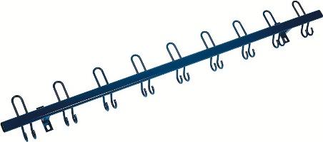 Sicherheits-Hakenleiste 1000 mm lang Haken nach vorne | günstig bestellen bei assistYourwork