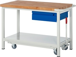 Werkbank A5-8001I6-12F HxBxT: 880 x 1250 x 700 mm   günstig bestellen bei assistYourwork