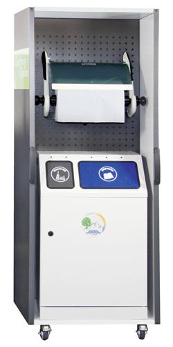 Cleaning Center 670-100-0-0-200 mit Abfallsammler Duplex + Rollenhalter | günstig bestellen bei assistYourwork