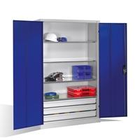 Großraumschrank mit Schubladen, EXPRESS HxBxT 1950 x 1200 x 500 mm | günstig bestellen bei assistYourwork