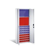 Schrank mit  108 Sichtlagerkästen HxBxT 1690x700x300mm, EXPRESS-Lieferzeit | günstig bestellen bei assistYourwork