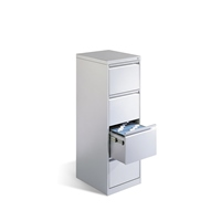 Stahl-Hängeregistraturschrank 1-bahnig 4 Schubladen, AKTIONSANGEBOT | günstig bestellen bei assistYourwork