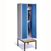 Select Spind S2000, untergebaute Sitzbank1-100243 2 Abteile á 300mm | günstig bestellen bei assistYourwork