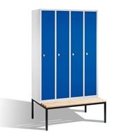 Select Garderobenspind untergebaute Bank 1-100245 4 Abteile á 300mm,EXPRESS LIEFERUNG | günstig bestellen bei assistYourwork