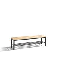 Freistehende Sitz--Garderobenbank Basic mit Schuhrost, EXPRESS LIEFERUNG | günstig bestellen bei assistYourwork