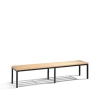 Freistehende Sitz--Garderobenbank Basic ohne Schuhrost, EXPRESS LIEFERUNG | günstig bestellen bei assistYourwork