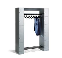 1 100552 Offener Garderobenschrank Mit Je 5 Schliessfachern Pro