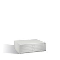 Flachablageschrank ohne Sockel Serie 7200 5 Schubladen, EXPRESS-LIEFERUNG | günstig bestellen bei assistYourwork