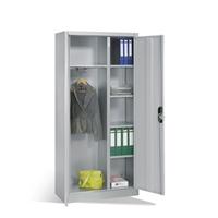 Büroschrank mit Garderobenabteil HxBxT 1950 x 930 x 400 mm, EXPRESS-LIEFERUNG | günstig bestellen bei assistYourwork