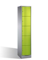 Select Resisto Schließfachschrank 1-100502 5 Fächer, HxBxT 1950x396x540mm | günstig bestellen bei assistYourwork