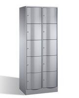 Select Resisto Schließfachschrank 1-100506 10 Fächer, HxBxT 1950x770x640mm | günstig bestellen bei assistYourwork