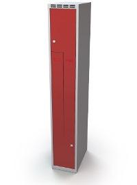 Z-Schrank 1920 x 350 x 500 mm doppelwandige Türen, 2 Abteile | günstig bestellen bei assistYourwork