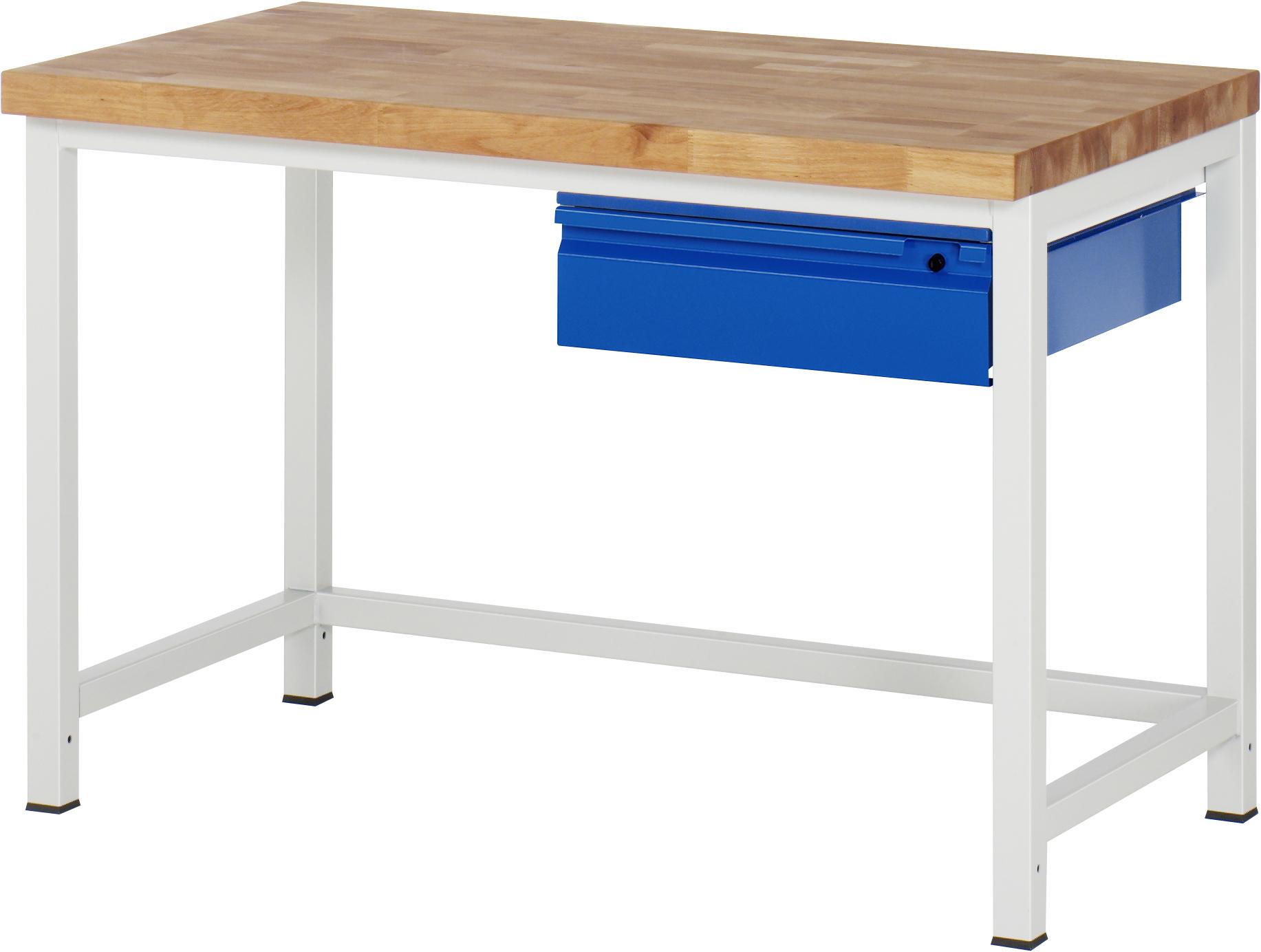 RAU Werkbank mit einer Schublade Werkstatteinrichtungen Werkbänke ...