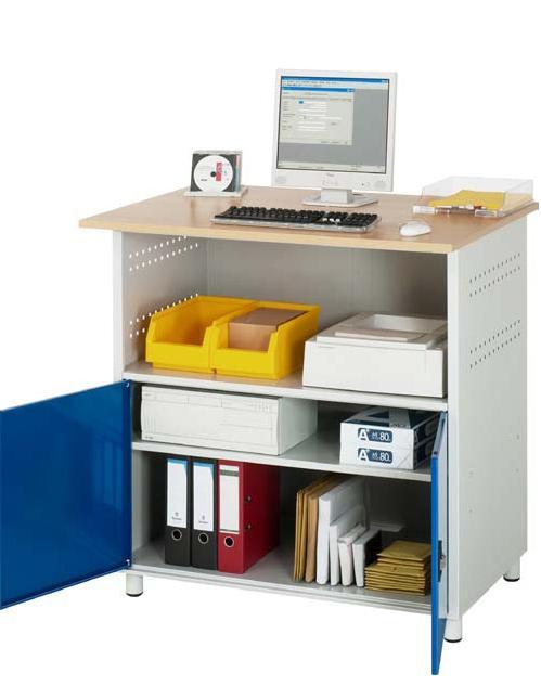 rau computer tisch a 1023s werkstatteinrichtungen pc arbeitspl tze assistyourwork. Black Bedroom Furniture Sets. Home Design Ideas