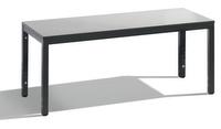 Sitzbank Basic Plus 8061-000, Breite 1500 mm, HxT 401x353 mm, Feuchtraumausführung | günstig bestellen bei assistYourwork