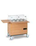 Ebinger elektrisch gekühlter Salatwagen 0146   günstig bestellen bei assistYourwork