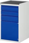 Schubladenschrank A3-L7.2I-MT, 2x120, 1x150, 1x540 Tür, Tragkraft 100 kg | günstig bestellen bei assistYourwork