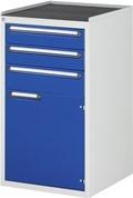 Schubladenschrank 2x120, 1x150, 1x540 Tür, Tragkraft 100 kg | günstig bestellen bei assistYourwork