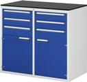Schubladenschrank 4x120, 2x150, 2x540 Tür, Tragkraft 100 kg   günstig bestellen bei assistYourwork