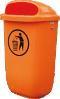 Abfallbehälter 50l aus Kunststoff, grün oder orange | günstig bestellen bei assistYourwork