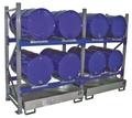 Fassregal 3000 Grundregal mit 2 Ebenen für 4 liegende 200l Fässer | günstig bestellen bei assistYourwork